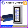 Metal case RFID card access controllers security keypad with waterproof