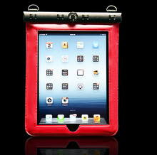 High quality cheap pvc waterproof case, waterproof dry bag/floating waterproof bag for ipad