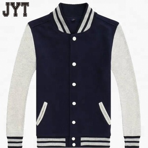 spring high quality custom baseball cotton jacket women and men