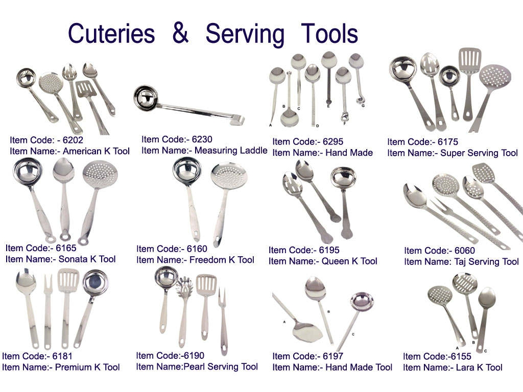 Kitchen equipment and their uses - Cutlery Kitchen Serving Tools Metal Fork Stainless Steel Set Product On Alibaba Com