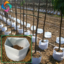 Garden use geotextile non woven fabric pot tree planting grow bags manufacturer
