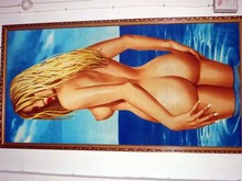 China factory luxury pictures of sex women nake beach towel