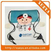 wholesale waterproof polyester drawstring bags for hospital