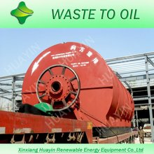 instead waste incineration to waste tyre recycling to fuel oil plant