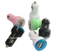 For iPad iPhone iPod Dual Ports USB Car Charger