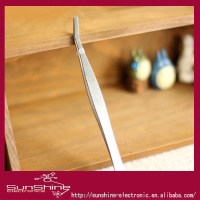 SunShine 2013 best design Stainless steel Eyelash Extension Tweezers