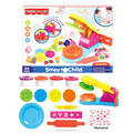 QT4715129 Wholesales diy toy hand press color clay with mold set preschool educational magic daugh for kids