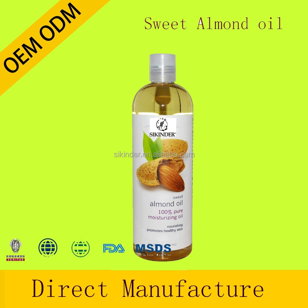 100ml relaxing sweet almond body massage oil essential oil