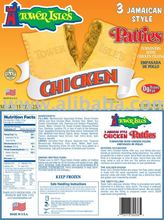 3 Pack Jamaican Style Chicken Patties