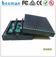 high resolution led dot matrix display Leeman P6.25 SMD p10 red led module