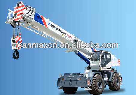 ZOOMLION 55T OFF-ROAD TIRE CRANE
