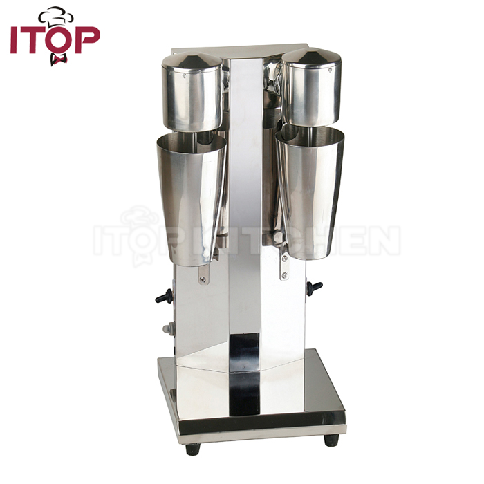 Stainless Steel Commercial Double Cups Milk Shake Machine