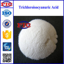 White tablets, granular Trichloroisocyanuric acid TCCA used as preventive disinfection