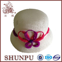 paper straw weaving hat kids gardening caps and hats
