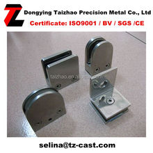 stainless steel glass clamps/clips for building hardwares