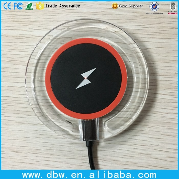 Wireless charger for mobile phone wireless magnetic induction charger receiver for iphone 6