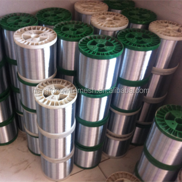 410 stainless steel wire 15kgs/spools bright color