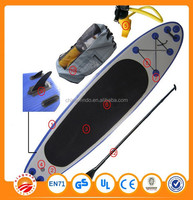 380cm length and 76cm width PVC inflatable Soft surfboard Stand up Paddle Board
