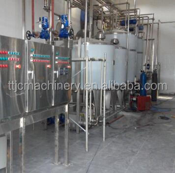 Small scale combined milk/yoghurt/juice production line price