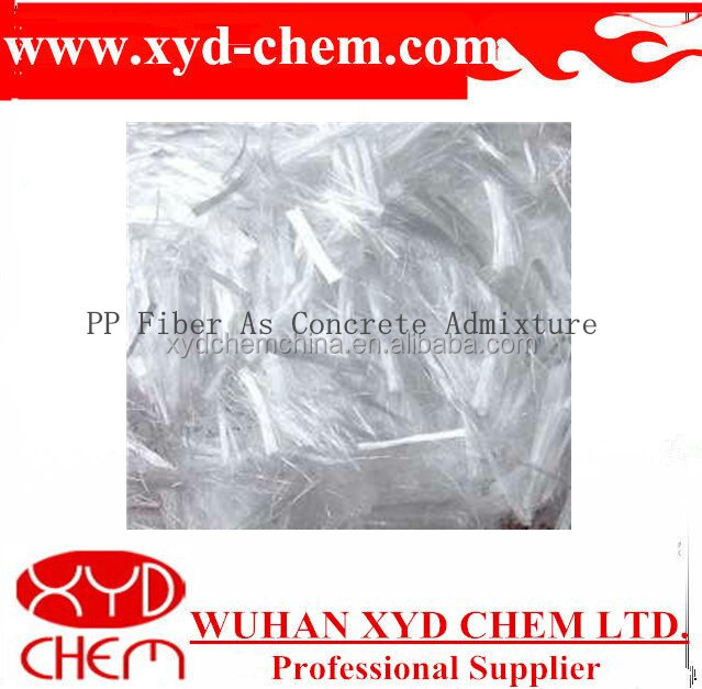 several grades widely used concrete additive pp fiber with high quality