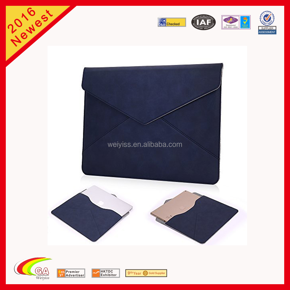 Wholesale Leather Laptop Sleeve,Carrying Case for iPad Pro ,Leather Laptop Carrying Case
