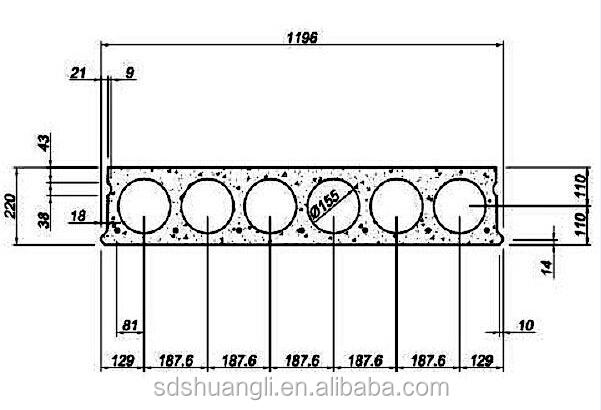 Hollow Core Precast Concrete Floor Panels Diagram : Steel moulds for precast concrete hollow core planks