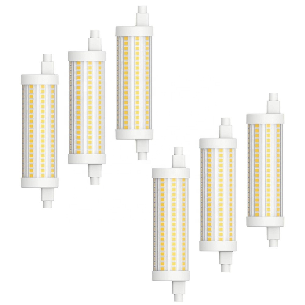 15w LED R7S lamp Double ended dimmable 110-130V/220-240V R7S halogen replacement j-type R7S <strong>bulb</strong> <strong>J118</strong> R7S 100w LED R7S <strong>Bulb</strong>