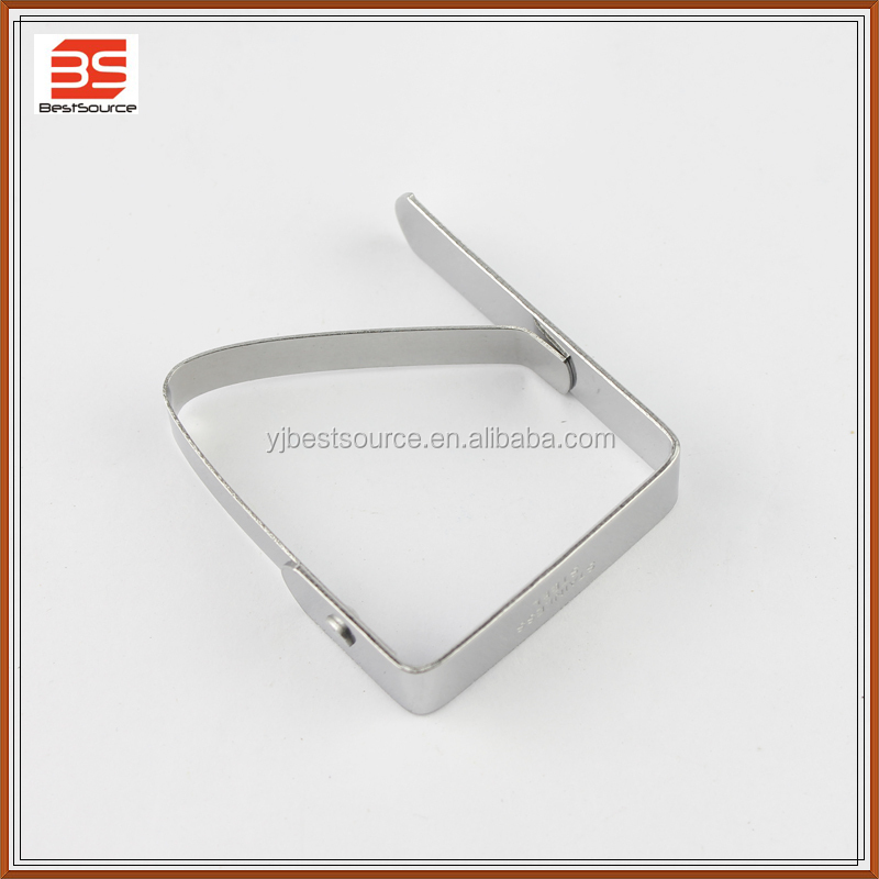 Stainless steel table cover desk skirt table cloth clamp clip