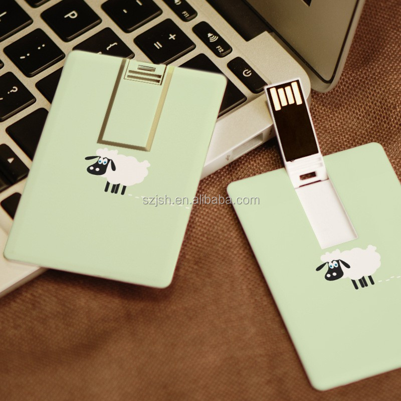 High quality custom credit card flash drive for cheap bulk gift