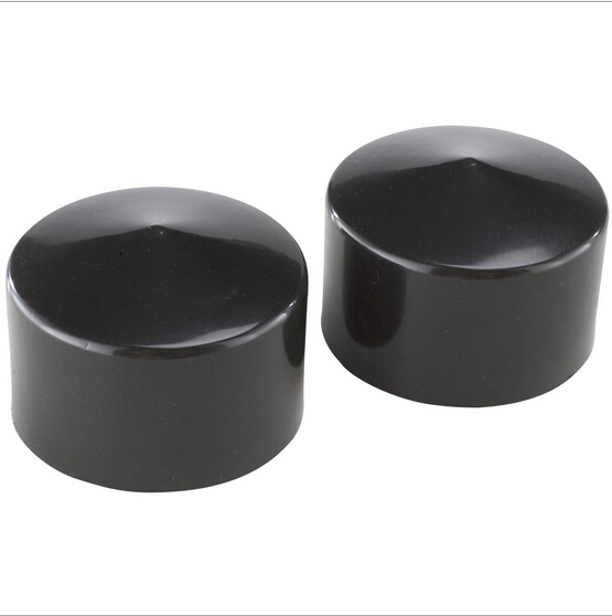 1.8 to 200mm large diameter plastic end cap round pipe cap, handrail end cap