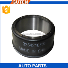 Taizhou GutenTop light truck auto parts parking brake assy brake drum OEM 3354210301 016.406-00A