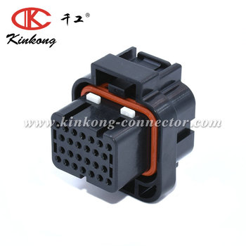 26 pin receptacle Waterproof Housing automotive ECU connector 2-1437285-2