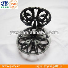 Factory direct sales tower internals,teller rosette ring,Plastic random tower packing