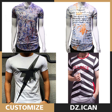 O-Neck All Over Sublimation Full-Size Printing T-Shirt For Men