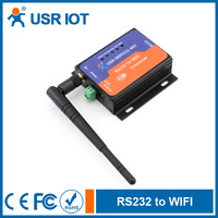 (USR-WIFI232-602)Wifi Serial Adapter RS232 to Wifi Converter Serial Wifi Device Server Support IEEE802.11b/g/n Wireless Standard