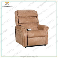 WorkWell high quality luxury fabric recliner functional chair Kw-Fu45