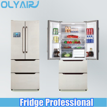 Smart WIFI control No frost 406L multi door refrigerator
