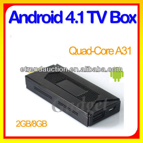 Latest Google Android 4.4 Quad Core 1.6GHz ARM A7 DDR3 2G internet tv box indian channels