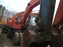 Used Wheel Excavator,Cheap Origin EX160WD Second-hand Digger Excavator,Good High Quality Condition