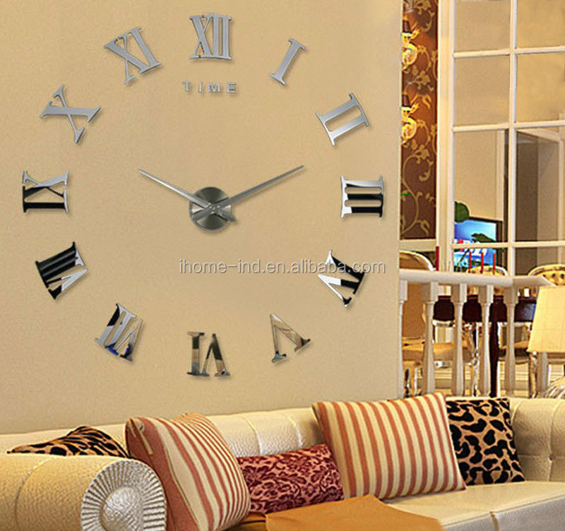 Wall Clocks Diy Wall Clock Diy Big 3d Wall Clock Buy
