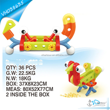 Creative Plastic Pipe Blocks Building Toys for Boys
