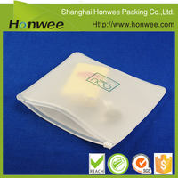 0.3mm frosted EVA zipper bag/ underwear packing bag