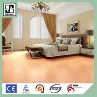 4.0mm CLICK light color wood pvc flooring for home LVT FLOOR VINYL PLANK