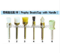 Cheap Disposable Dental Colorful Teeth Hard Plastic Prophy Cup