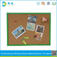 color border cork memo board for home decoration