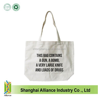 Customized Cotton Canvas Tote Bag, Cotton Bags Promotion