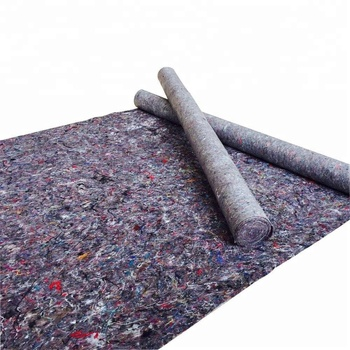 Fabric wool carpet anti-slip geotextile fabric cheap underlayment