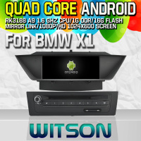 Witson S160 Android 4.4 Car DVD GPS For BMW X1 with Quad Core Rockchip 3188 1080P 16g ROM
