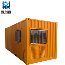 Strong Earthquake Resistance Foldable Prefab Shipping Container House