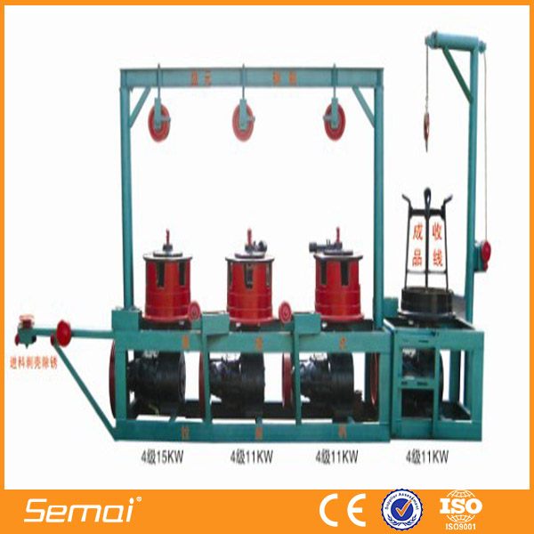 high speed aluminium wire drawing machine(factory ISO,CE)